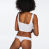 Invisible thong, White