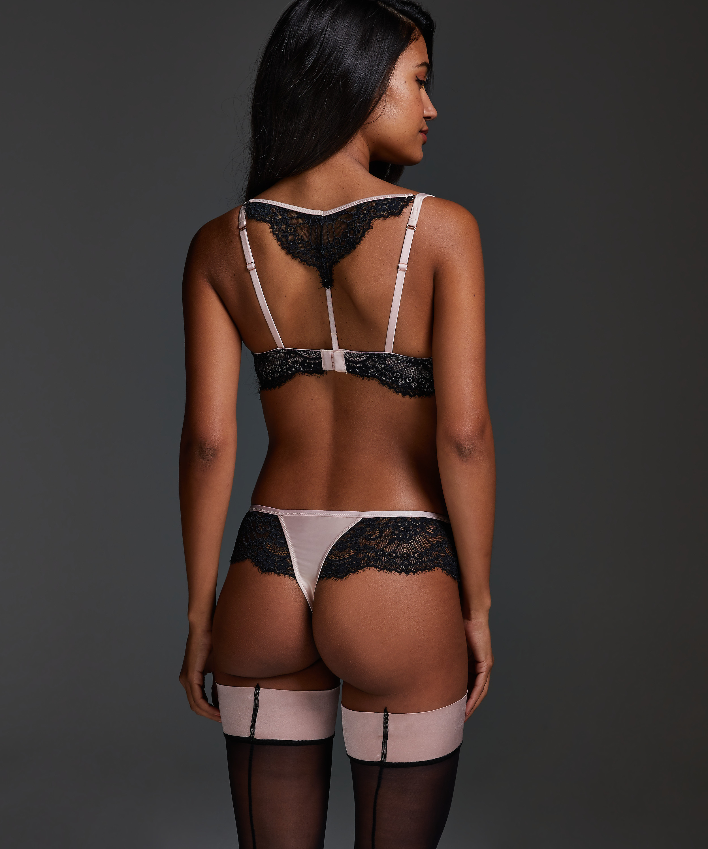Amelia boxer thong, Pink, main