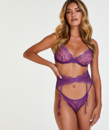 Isabelle Suspenders, Purple