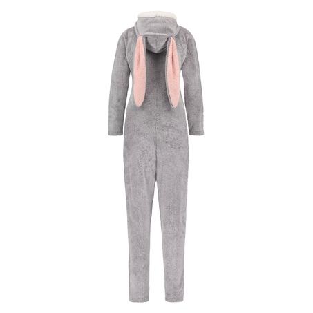 Novelty Fleece Onesie, Grey