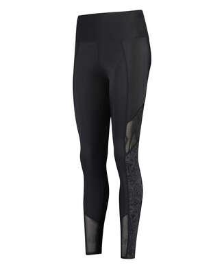 HKMX High waisted sport leggings Rodeo, Black