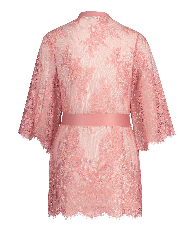 Isabelle Lace Kimono, Pink, main