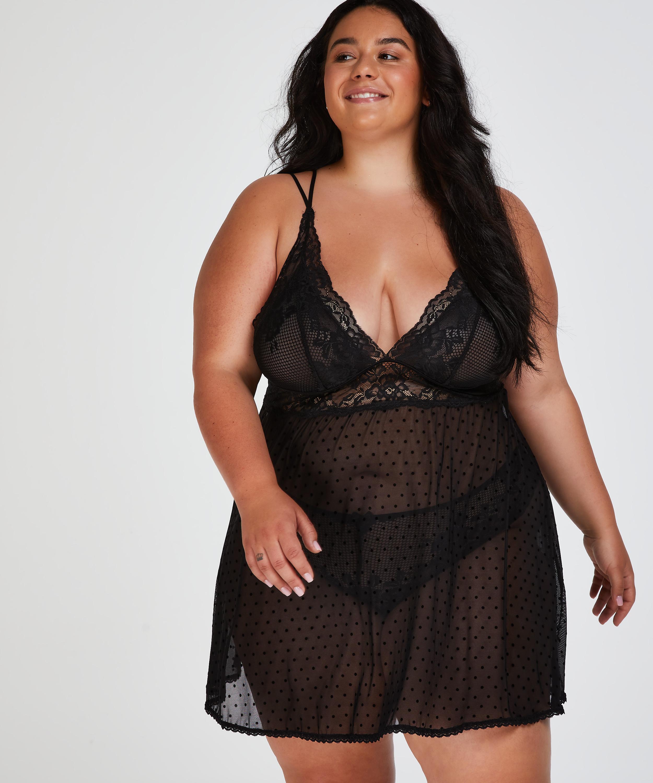 Beatriz Babydoll, Black, main