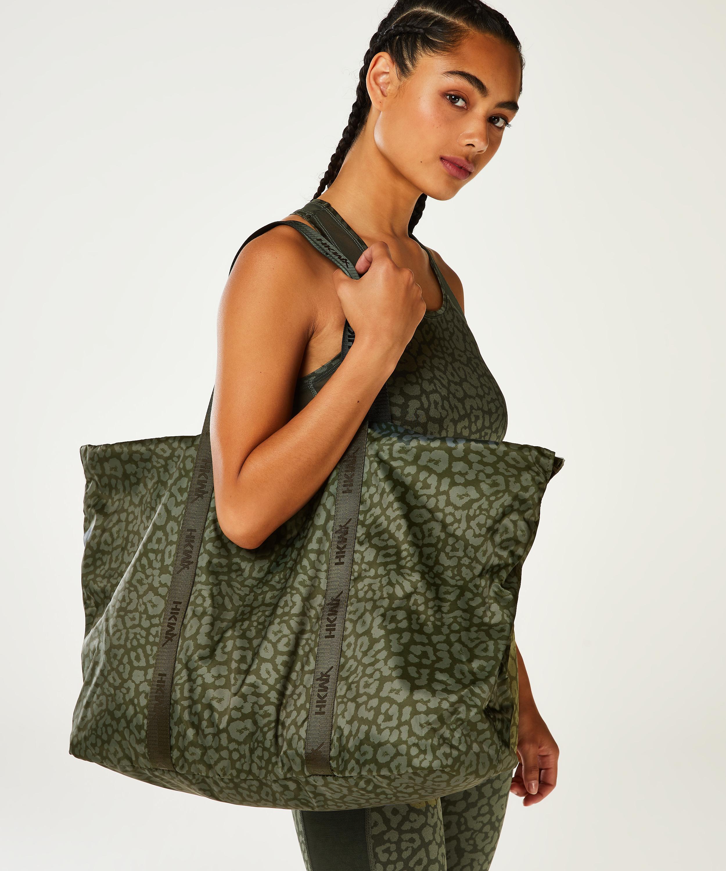 HKMX Tote bag, Green, main