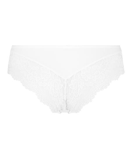 Valencia Brazilian Shorts, White