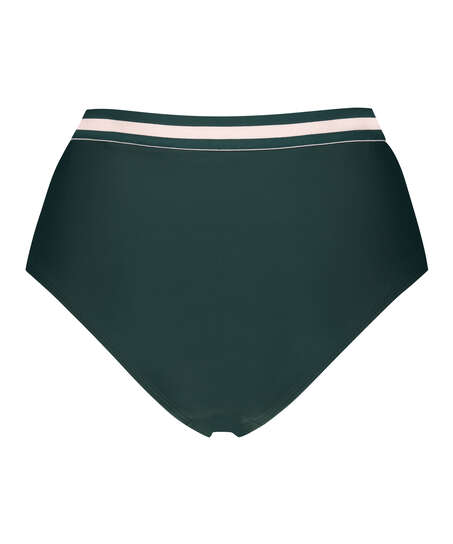 Pinewood high Brazilian bikini bottoms, Green