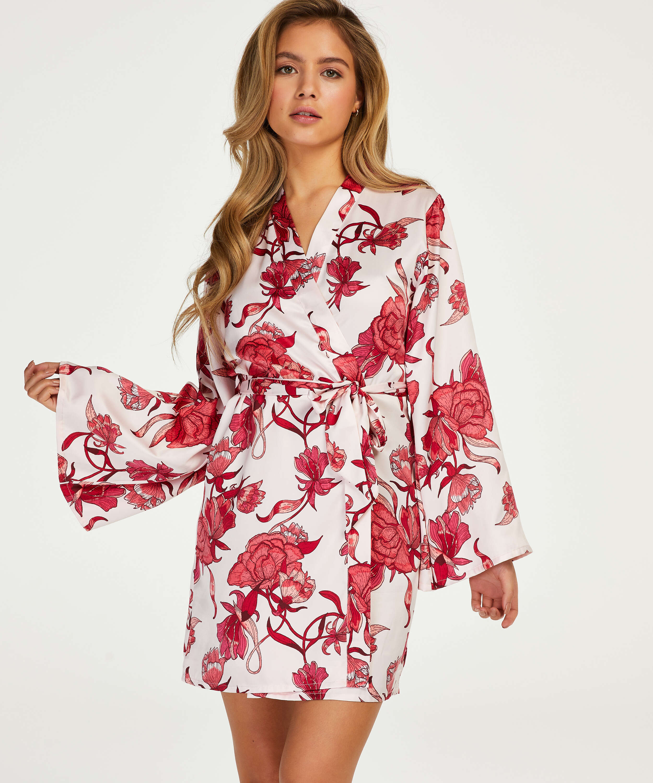 Zinnia Kimono, Pink, main