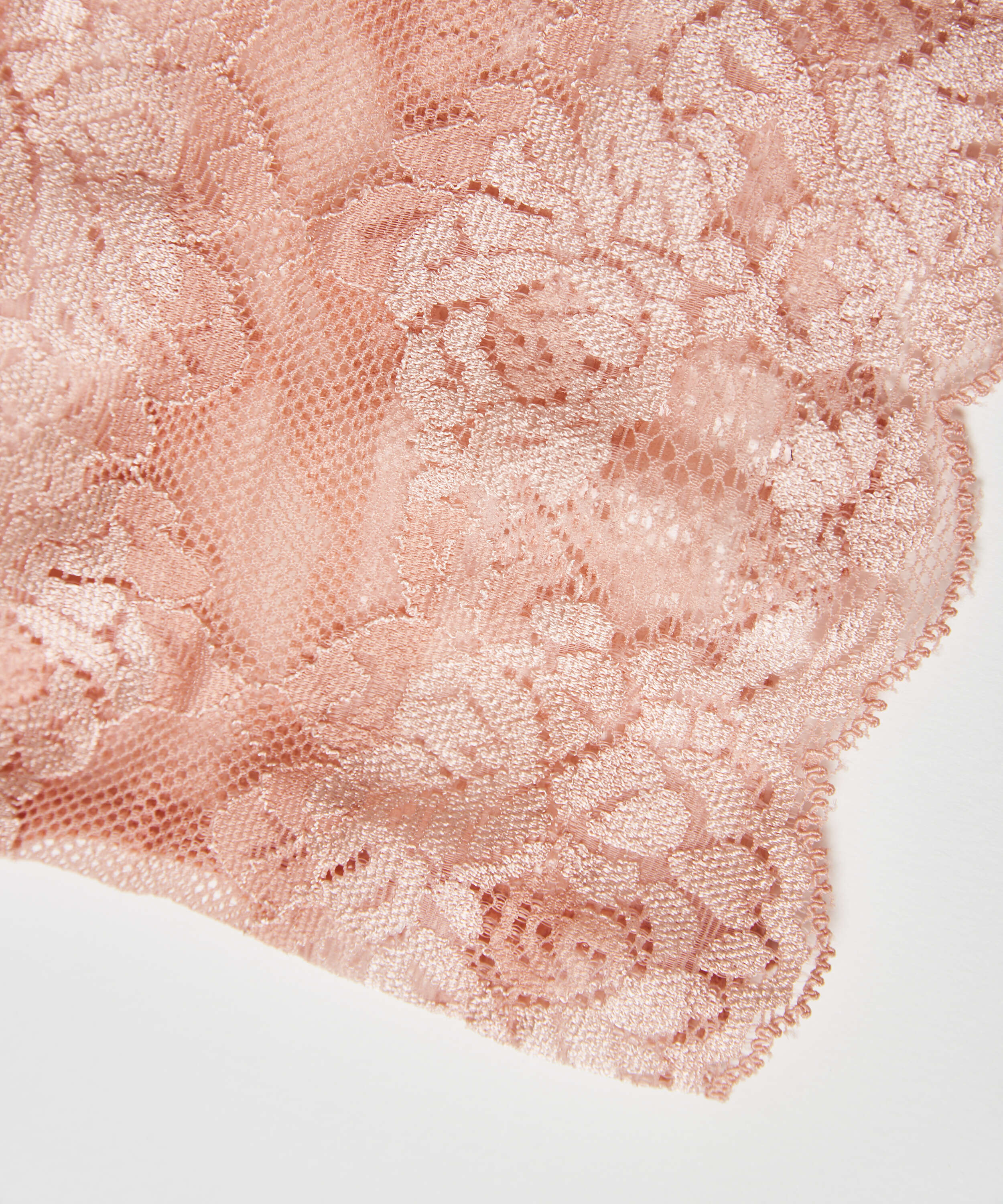 Lace thigh bands, Pink, main