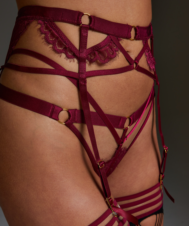 Jacky Suspenders, Red, main