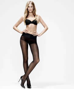 20 Denier seamless tights, Black