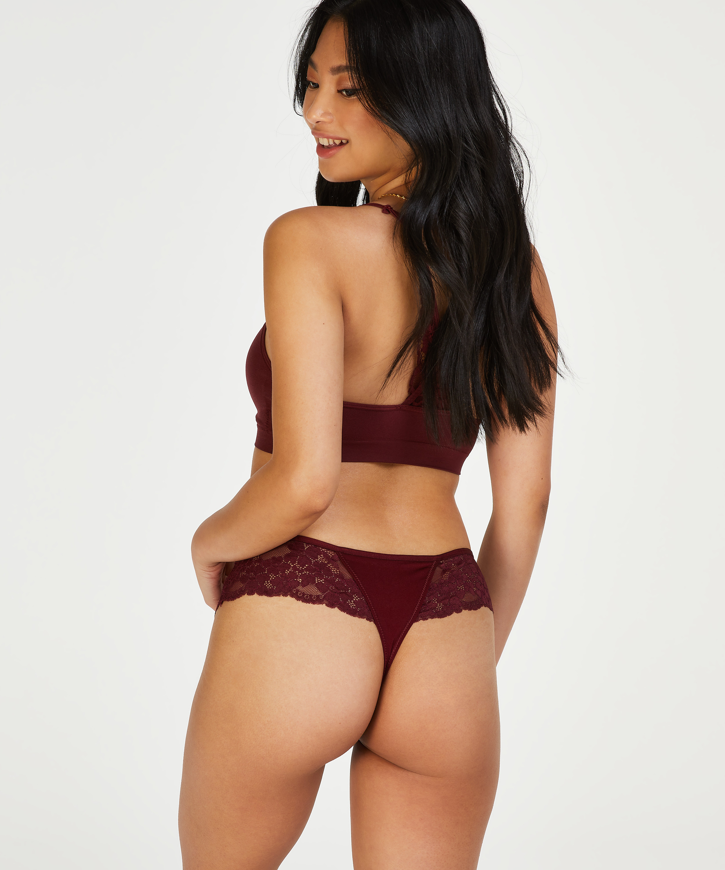 Nellie Thong Boxers, Red, main