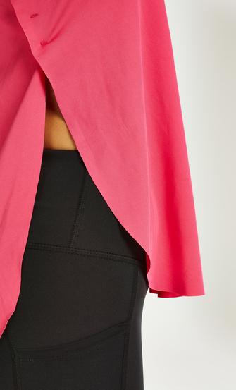 HKMX loose fit tank top, Pink
