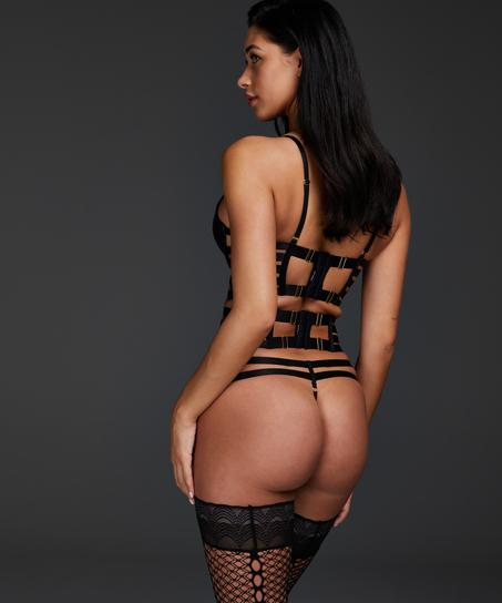 Vicky thong, Black