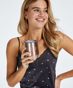 Thermo coffee cup, Pink