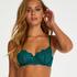 Cardi non-padded underwired bra, Blue