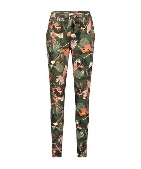 Petite Jersey pyjama bottoms, Green