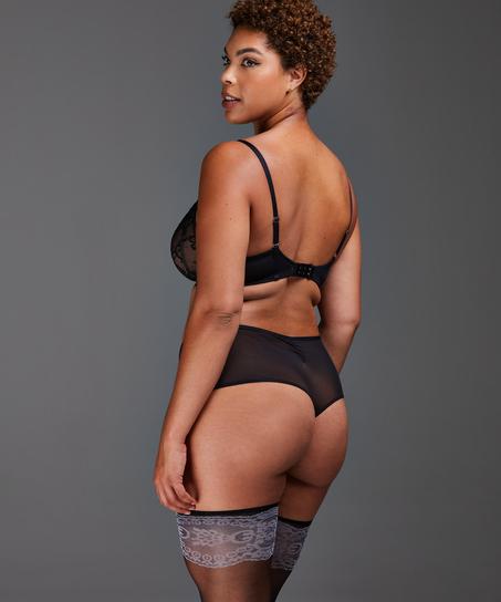 Helena Thong Boxers, Black