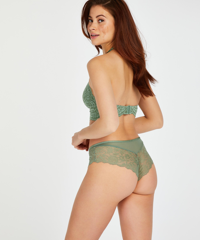Mia Brazilian Shorts, Green, main