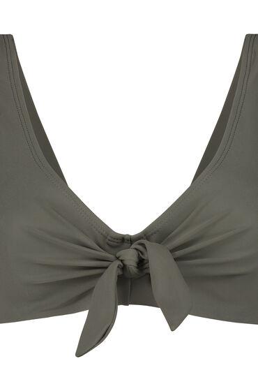 Hunkemöller Unformed Clasp Bikini Top Sunset Dreams Green 165657 32f, Green
