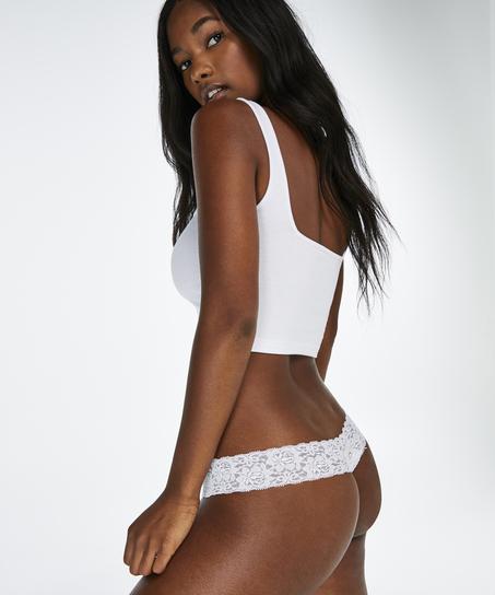 Thong Ultra Low, White
