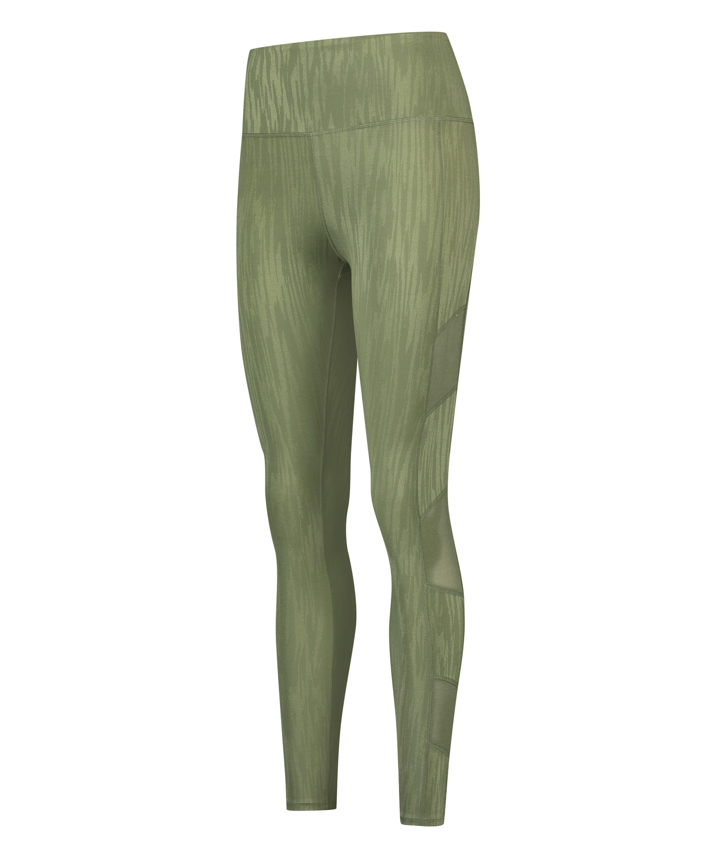 HKMX High waisted sport legging Mojave, Green, main