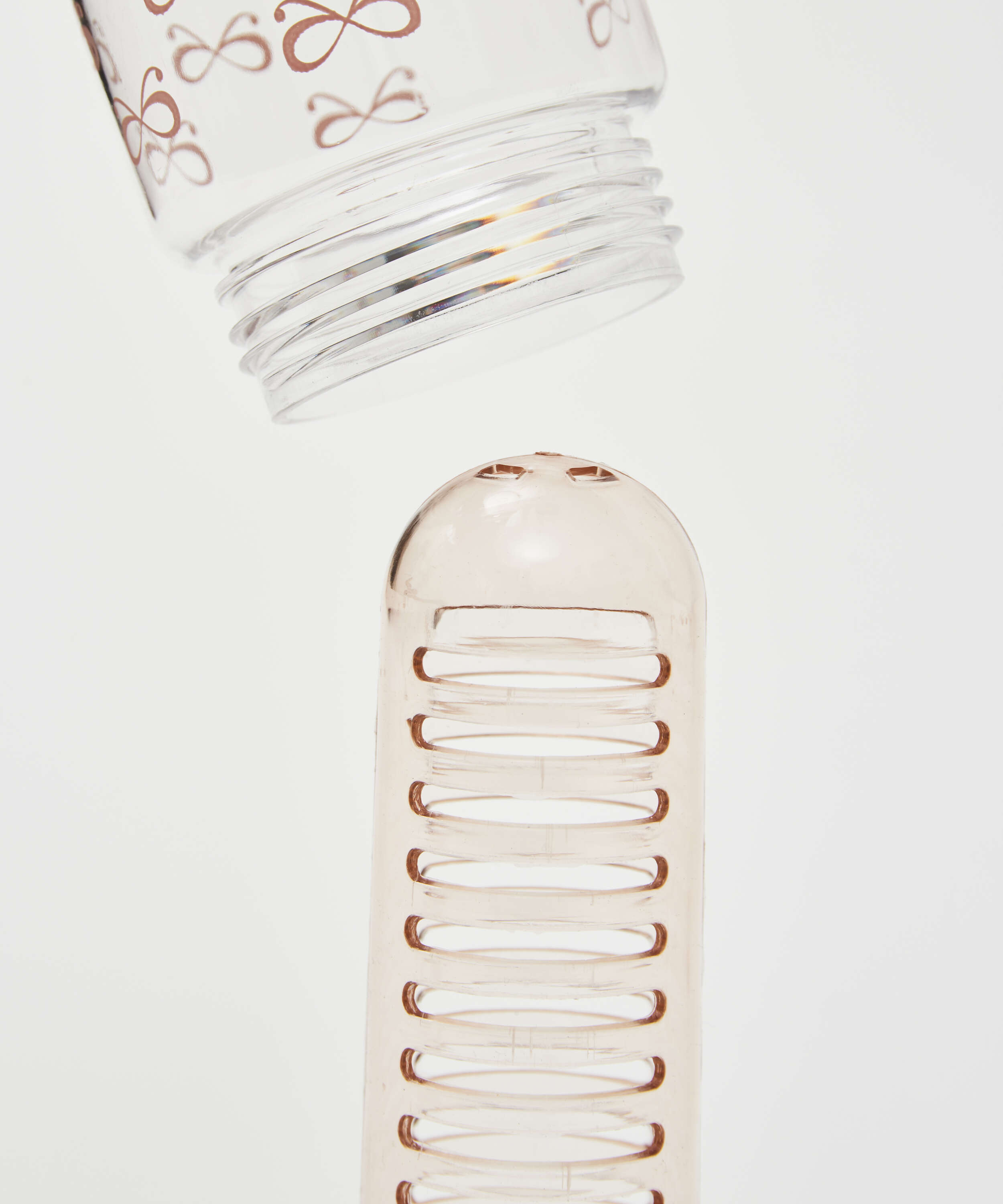Patched Infused Water Bottle, Pink, main