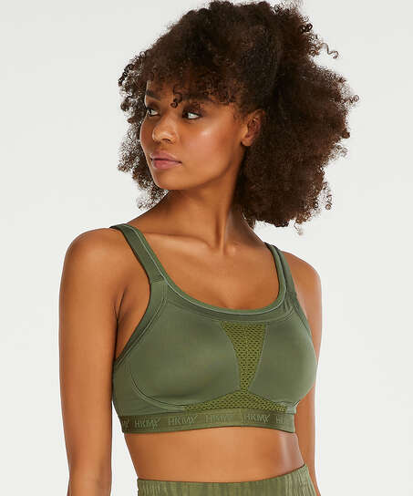 HKMX Sports bra The Elite Level 3, Green