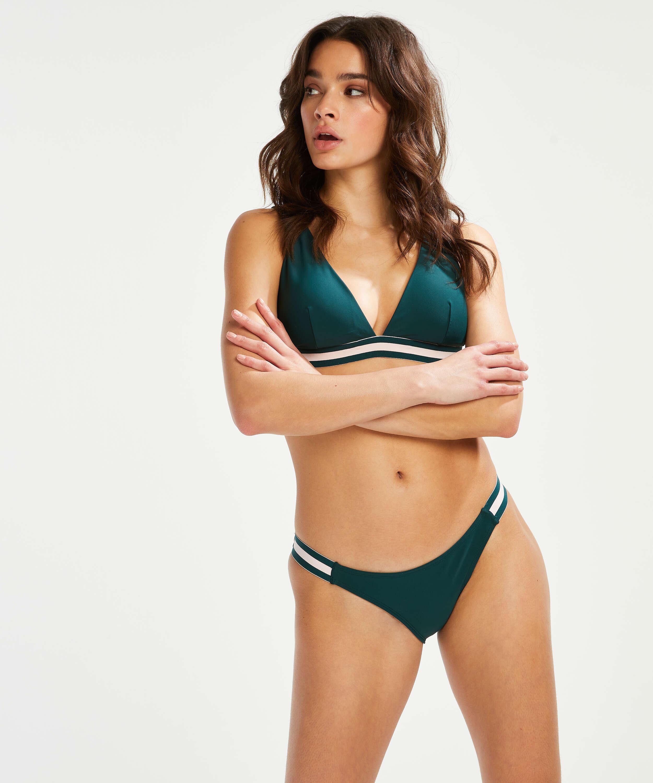 Pinewood bikini bottoms, Green, main