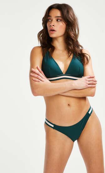 Pinewood bikini bottoms, Green
