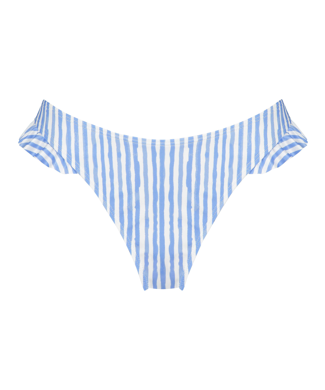 Julia high leg bikini bottom, Blue, main