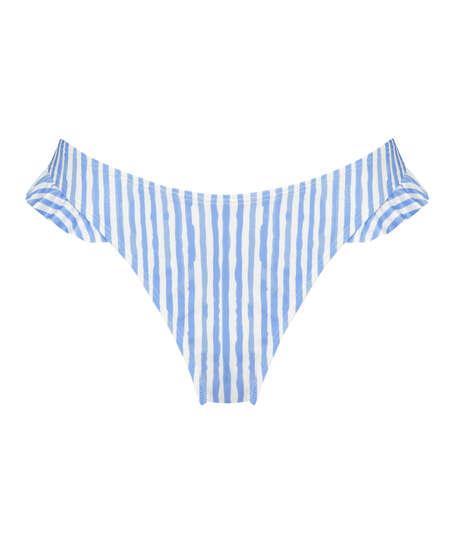 Julia high leg bikini bottom, Blue