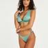 SoCal thong bikini bottoms, Green