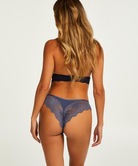 Heira High Leg Brazilian, Blue