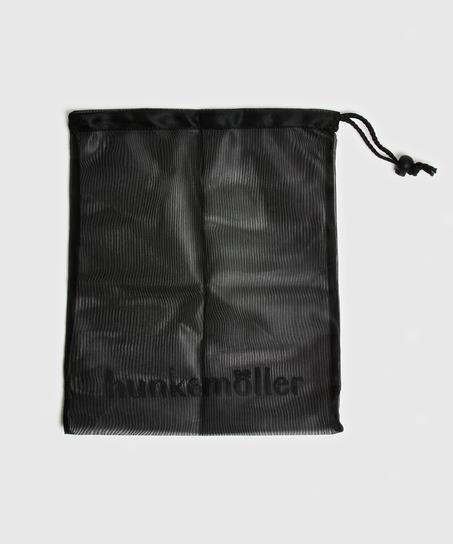 Hosiery bag drawstring, Black