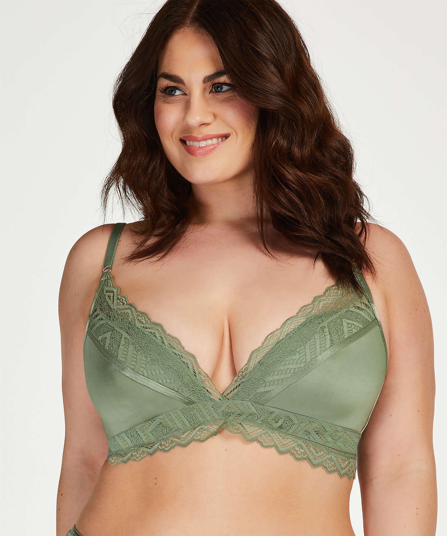 Rabella padded non-underwired bra I AM Danielle, Green, main