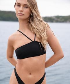 Bandeau bikini top HKM x NA-KD, Black