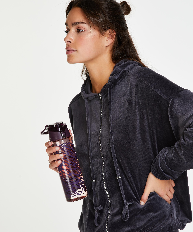 Branded Water bottle, Purple, main