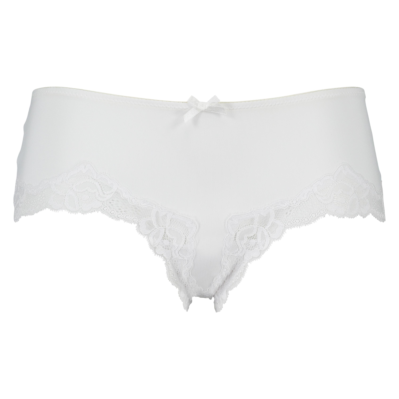 Secret Lace Brief, White, main