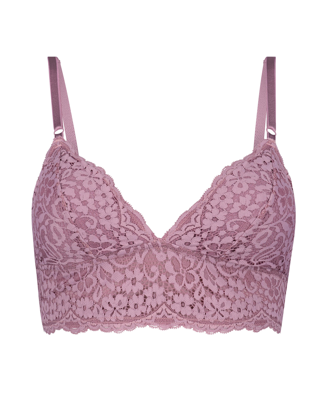 Rose Bralette, Purple, main