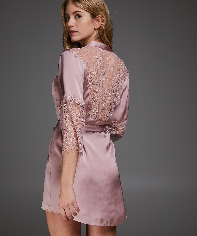 Kimono Satin Lily, Pink, main