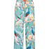 Painted Peacock Pyjama Pants, Blue