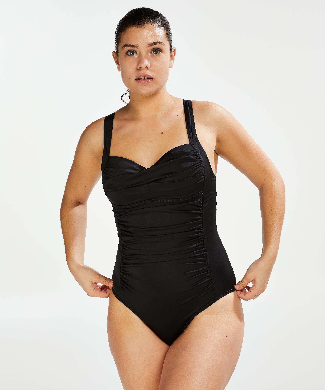 Sunset Dreams Ocean swimsuit, Black, main