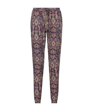 Jersey pyjama bottoms, Blue