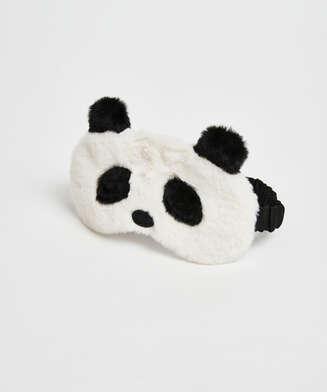 Cute Panda Sleep Mask, White