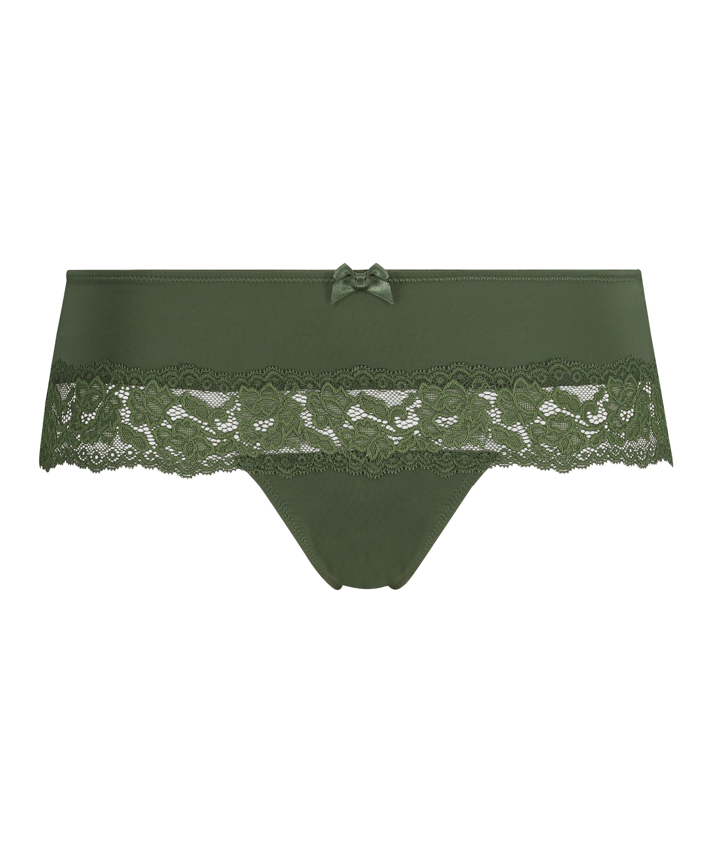 Paris boxer thong, Green, main