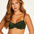 Kate padded underwired bra, Green
