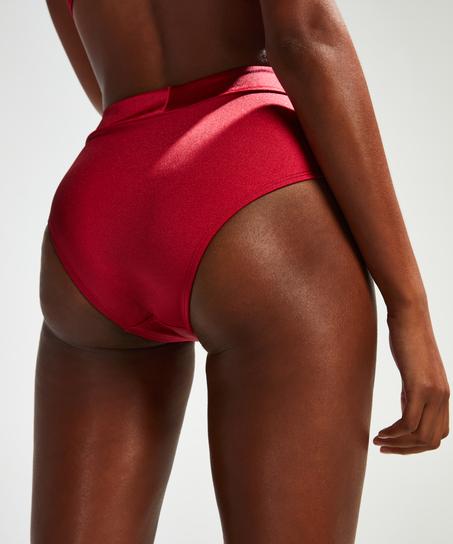 Lola High Bikini Bottoms, Red