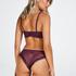 Yvonne padded non-underwired bra, Purple