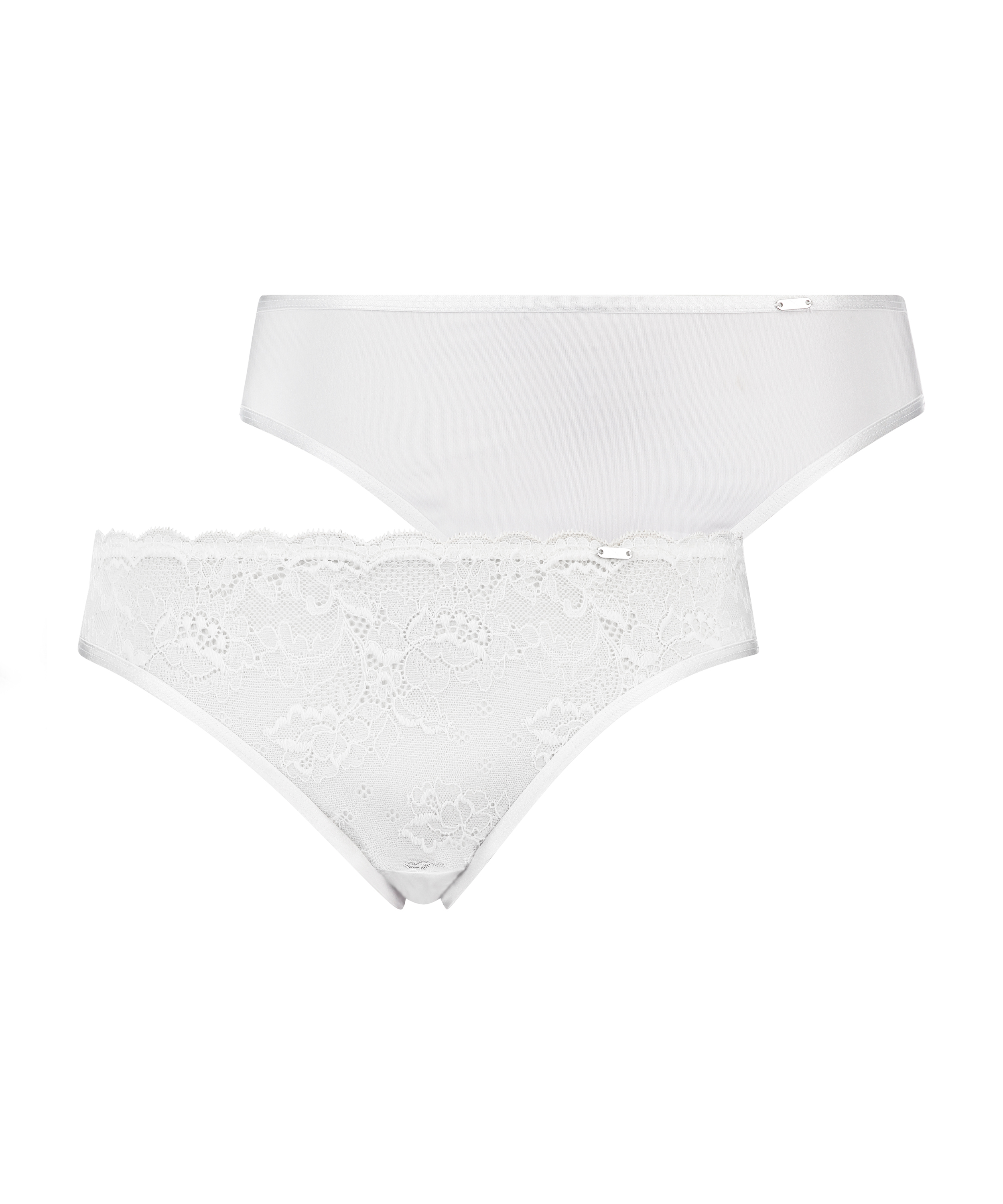 2-pack Angie Knickers, White, main