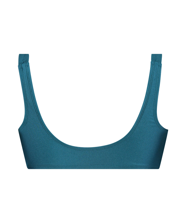 Brokopondo triangle bikini top I AM Danielle, Blue, main
